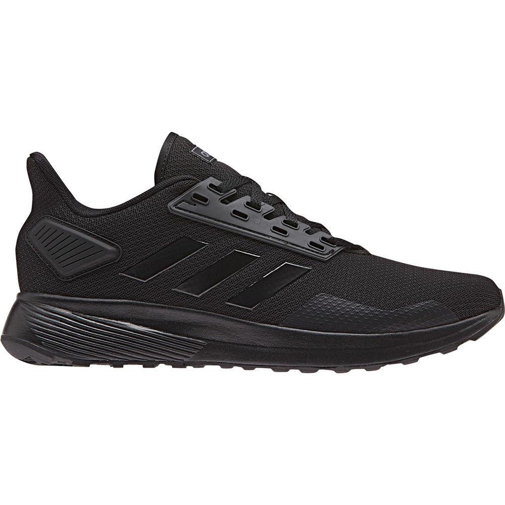 アディダス adidas メンズ ランニング・ウォーキング シューズ・靴【Duramo 9 Wide Width Running Shoe】Black/Black