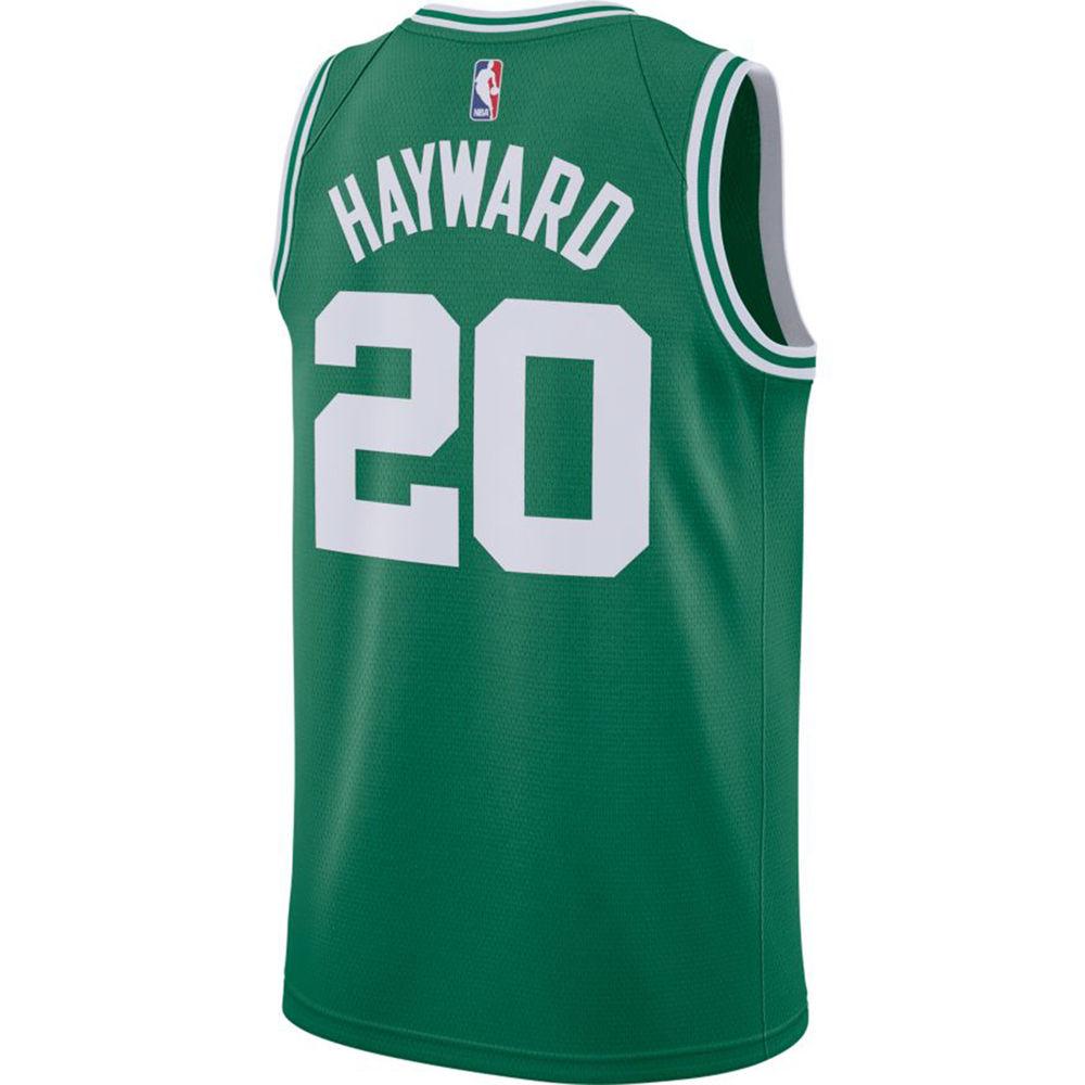 ナイキ Nike メンズ トップス【Boston Celtics Adult Gordon Hayward Swingman Jersey】Green