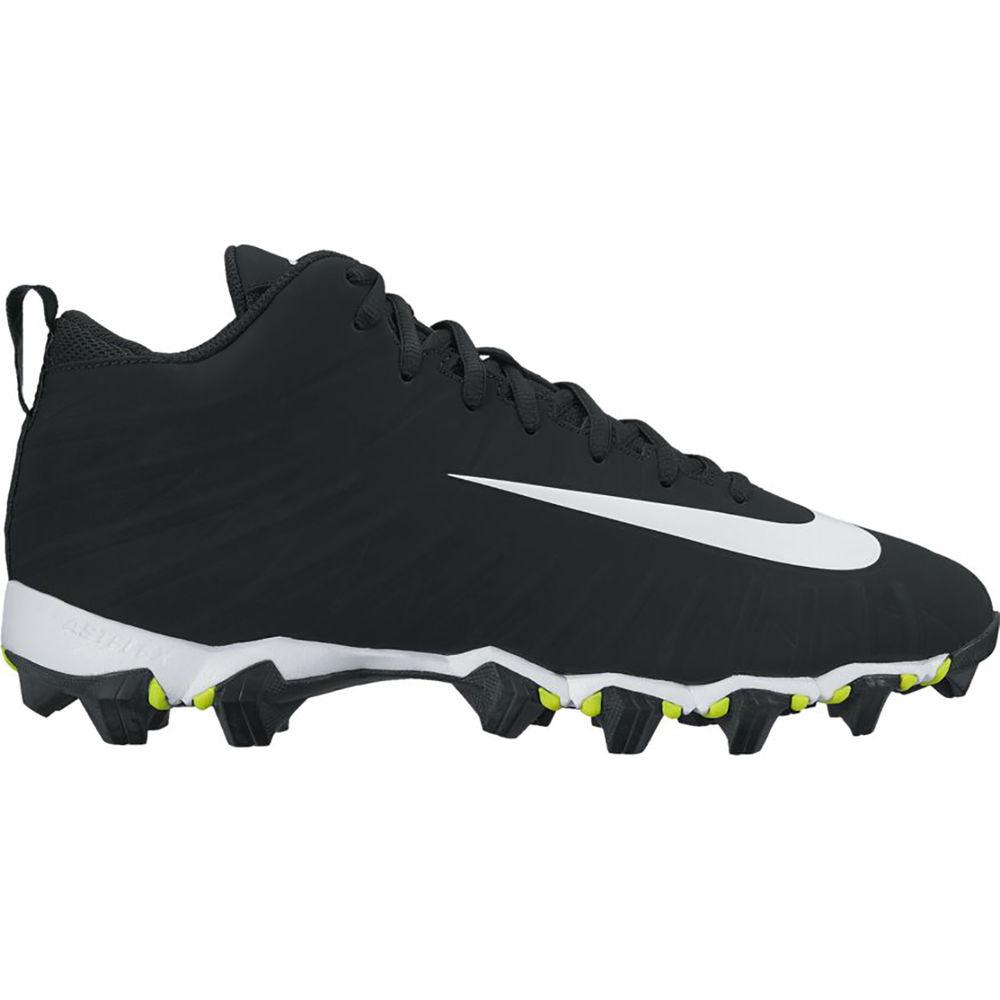 ナイキ Nike メンズ アメリカンフットボール シューズ・靴【Alpha Menace Shark (Wide Width) Football Cleat】Black/White