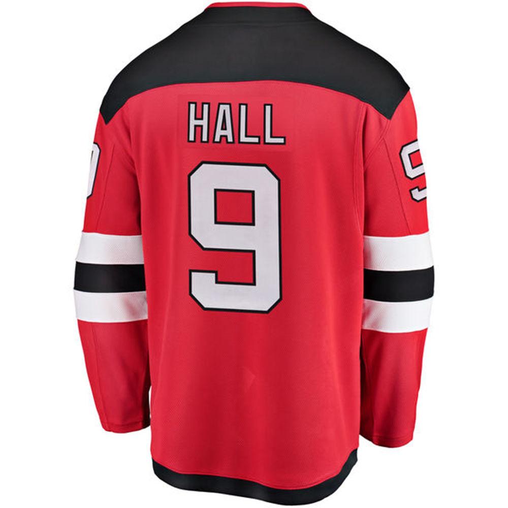 ファナティクス Fanatics メンズ トップス【New Jersey Devils Adult Taylor Hall Player Jersey】Red