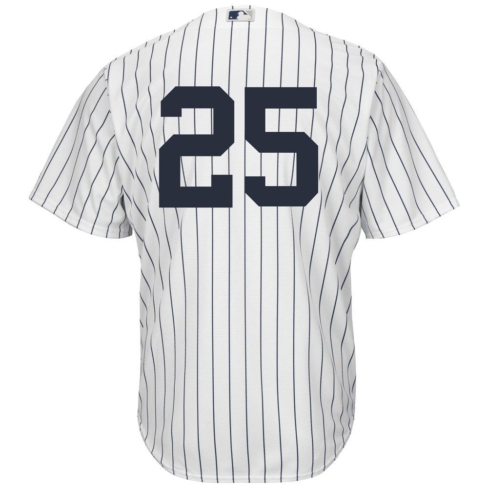 マジェスティック Majestic メンズ トップス【New York Yankees Adult Gleyber Torres Jersey】White