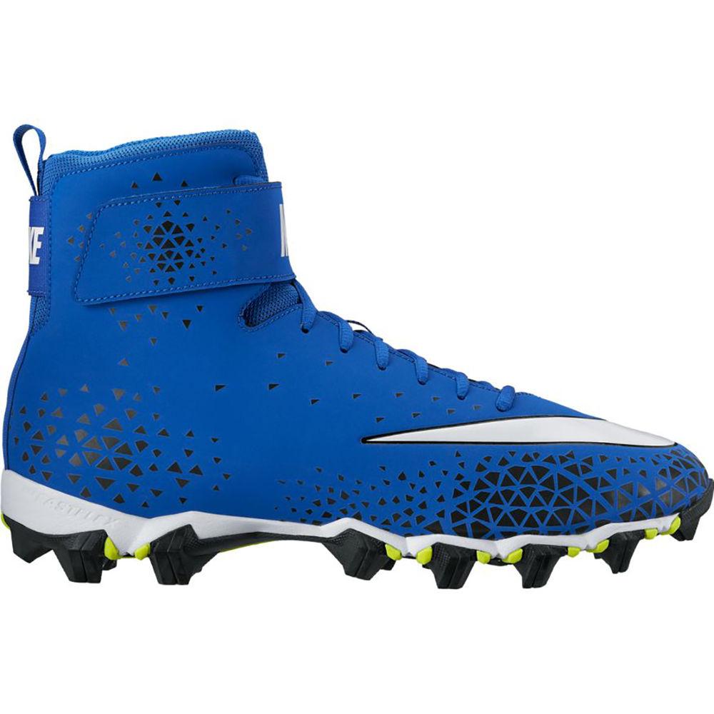 ナイキ Nike メンズ アメリカンフットボール シューズ・靴【Force Savage Shark Football Cleat】Royal/White
