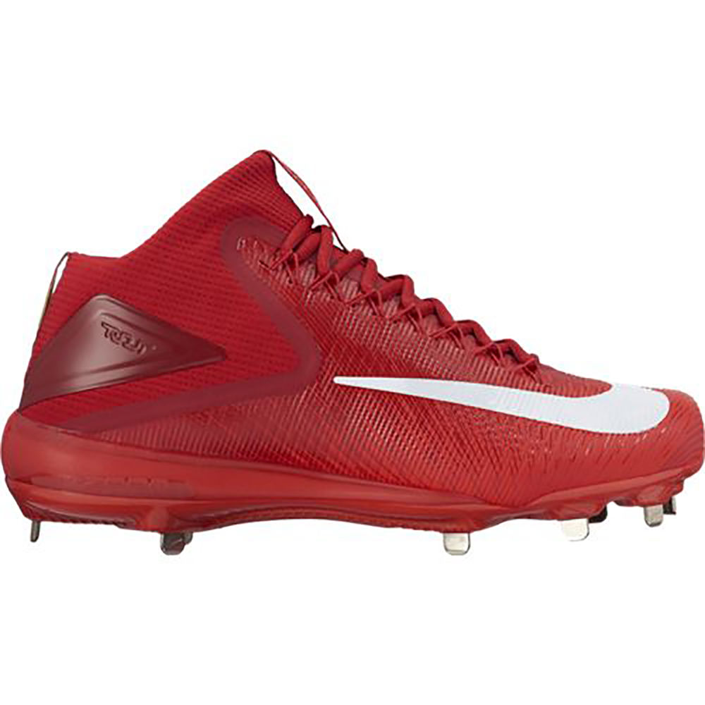 【お気にいる】 ナイキ Nike メンズ 野球 シューズ Cleat】Crimson・靴【Zoom メンズ Trout ナイキ 3 Baseball Cleat】Crimson, e-shopNAKAZEN中善楽器:904f5043 --- paulogalvao.com