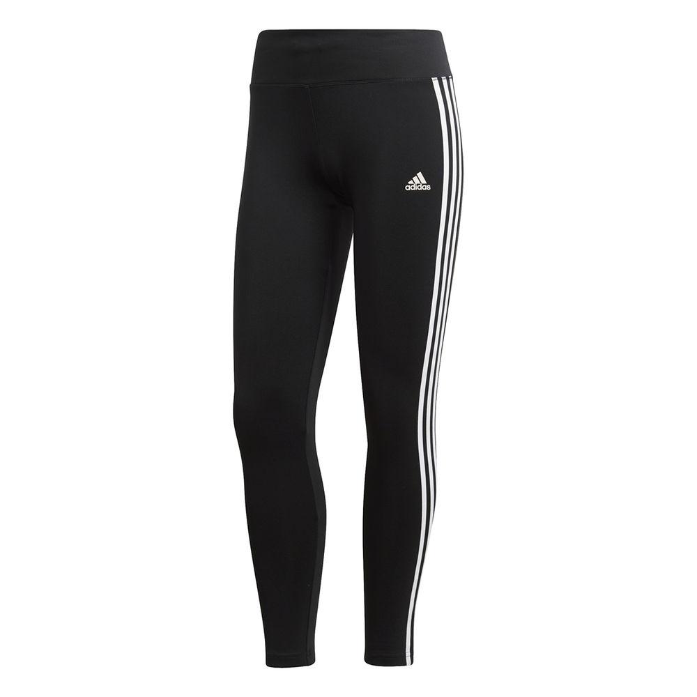 アディダス adidas レディース インナー・下着 スパッツ・レギンス【Design To Move 3 Stripes Tight】Black/White