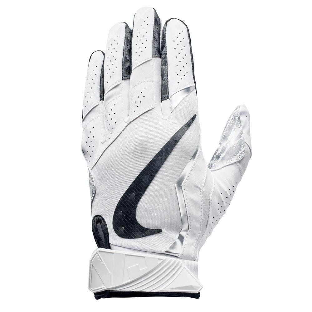 ナイキ Nike ユニセックス アメリカンフットボール グローブ【Vapor Jet 4.0 Adult Football Gloves】White/Black
