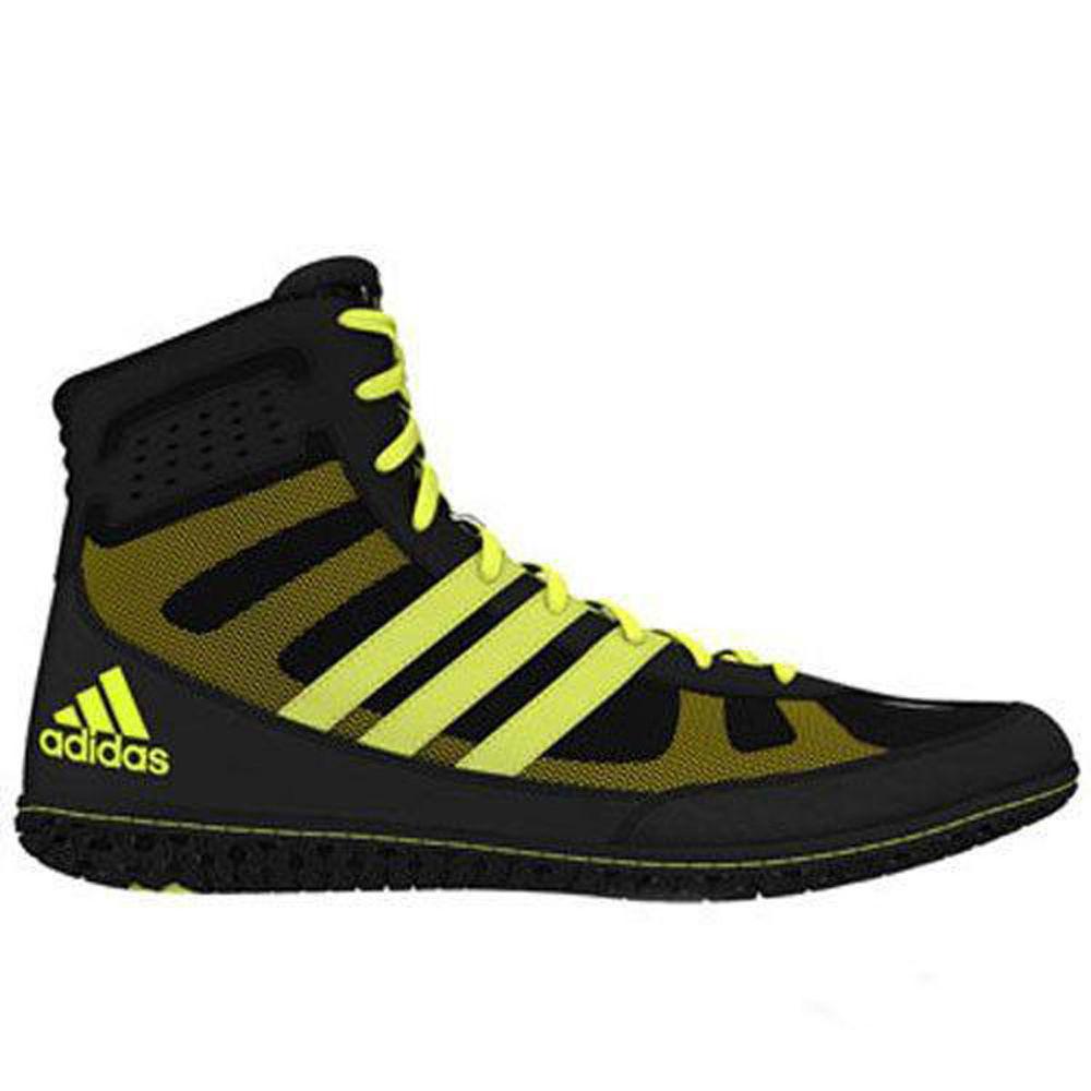 アディダス adidas メンズ レスリング シューズ・靴【Mat Wizard Wrestling Shoe】Black/Yellow