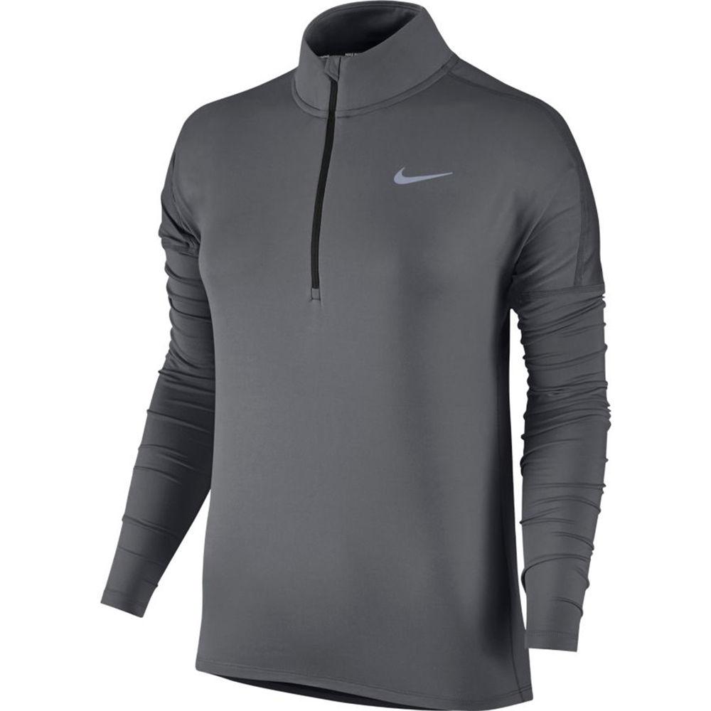 ナイキ Nike レディース ランニング・ウォーキング トップス【Dry Element 1/2 Zip Running Top】Dark Grey