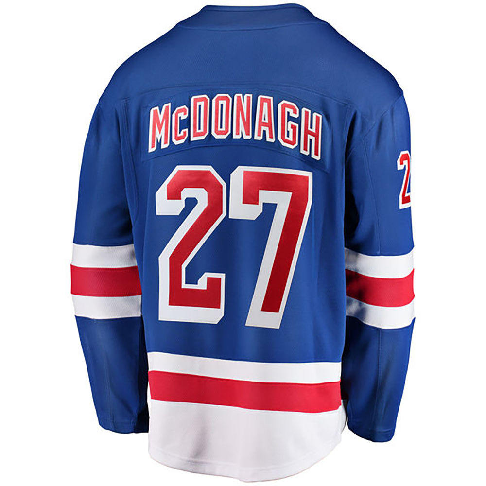 ファナティクス Fanatics メンズ トップス【New York Rangers Adult Ryan McDonagh Player Jersey】Royal
