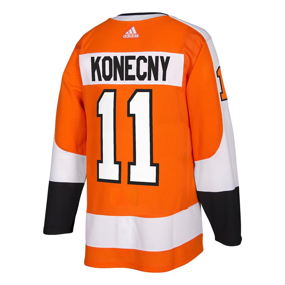 アディダス adidas メンズ トップス【Philadelphia Flyers Adult Travis Konecny Authentic Jersey】Orange