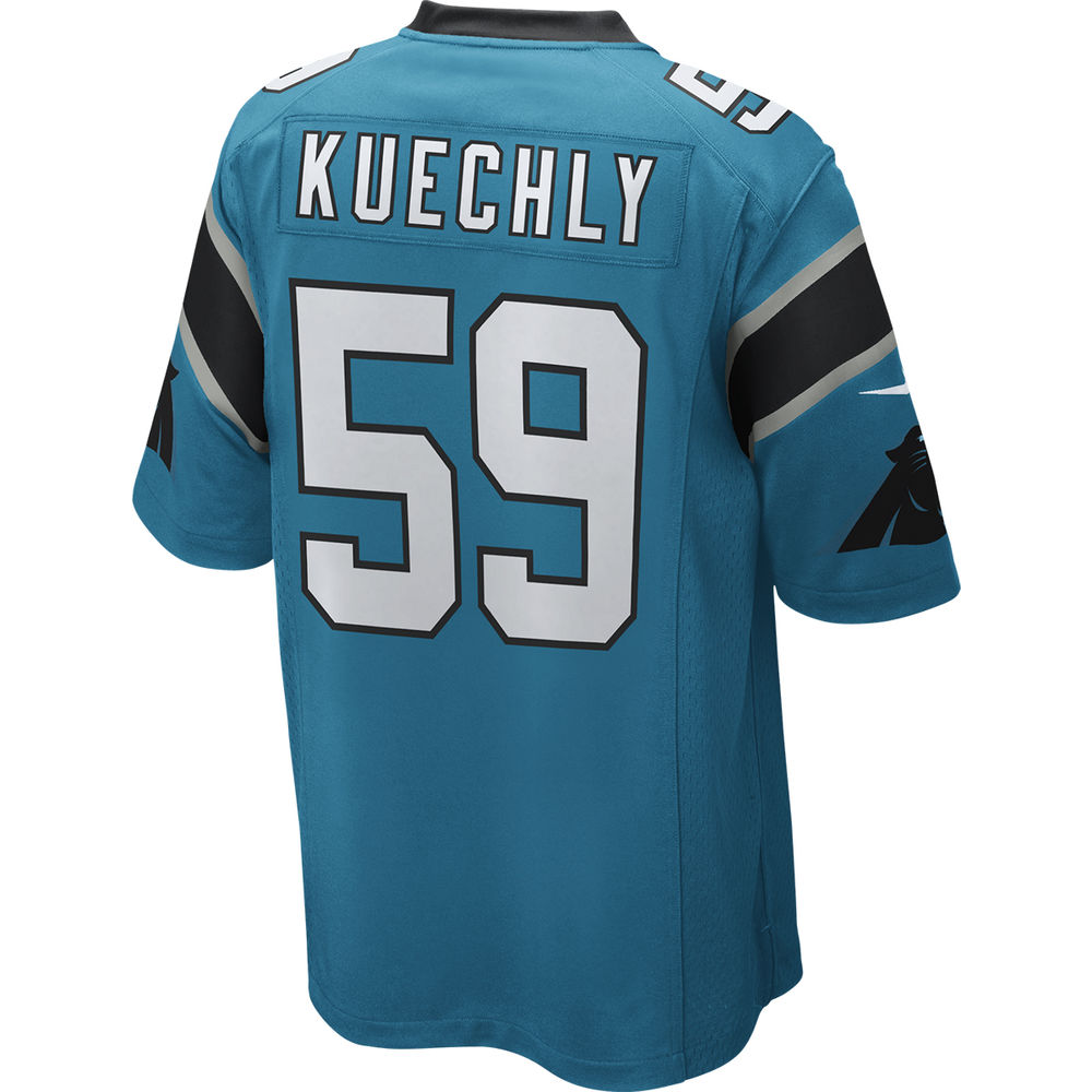 ナイキ Nike メンズ トップス【Carolina Panthers Adult Luke Kuechly Game Jersey】Blue