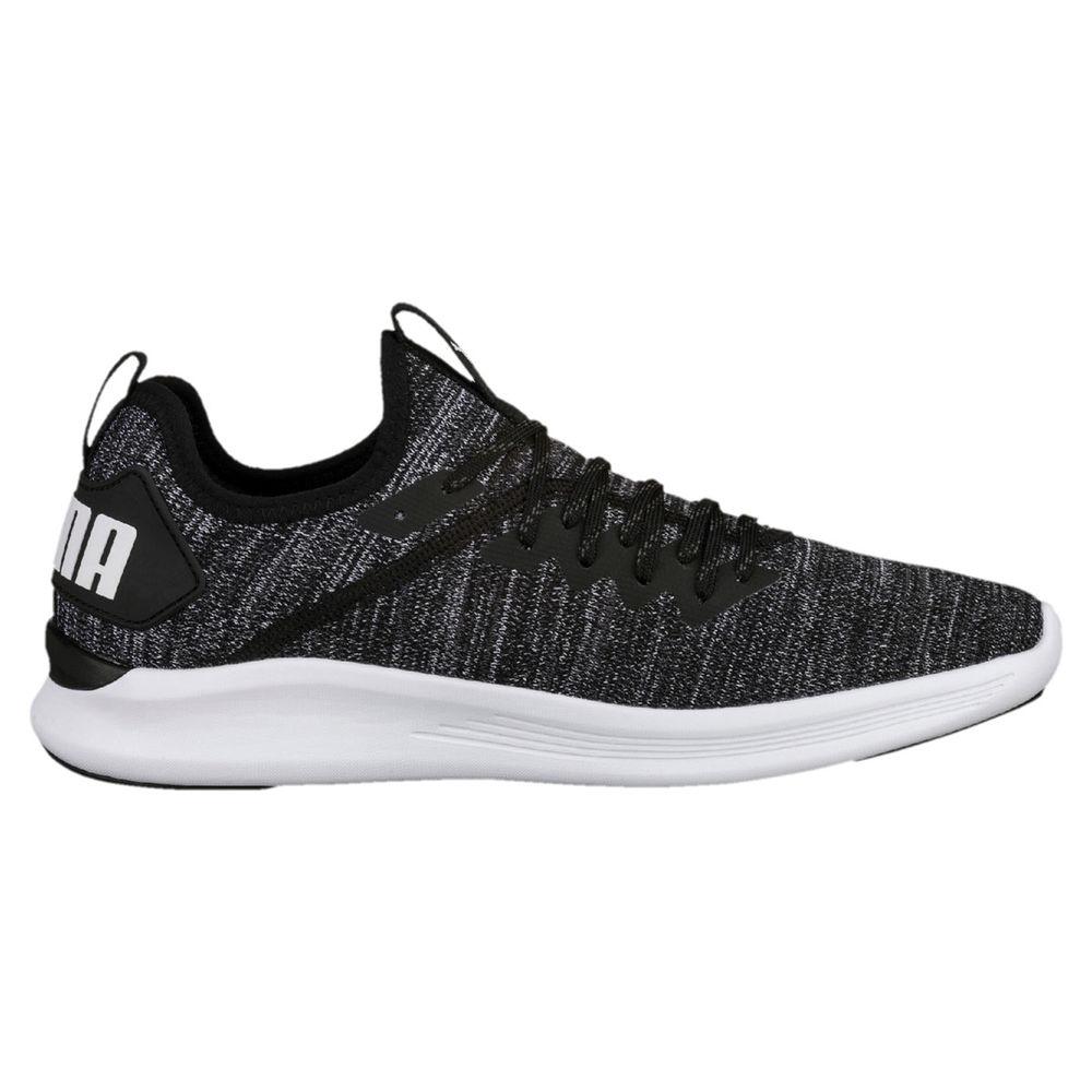 プーマ Puma メンズ フィットネス・トレーニング シューズ・靴【Ignite Flash Evoknit Training Shoe】Black/White