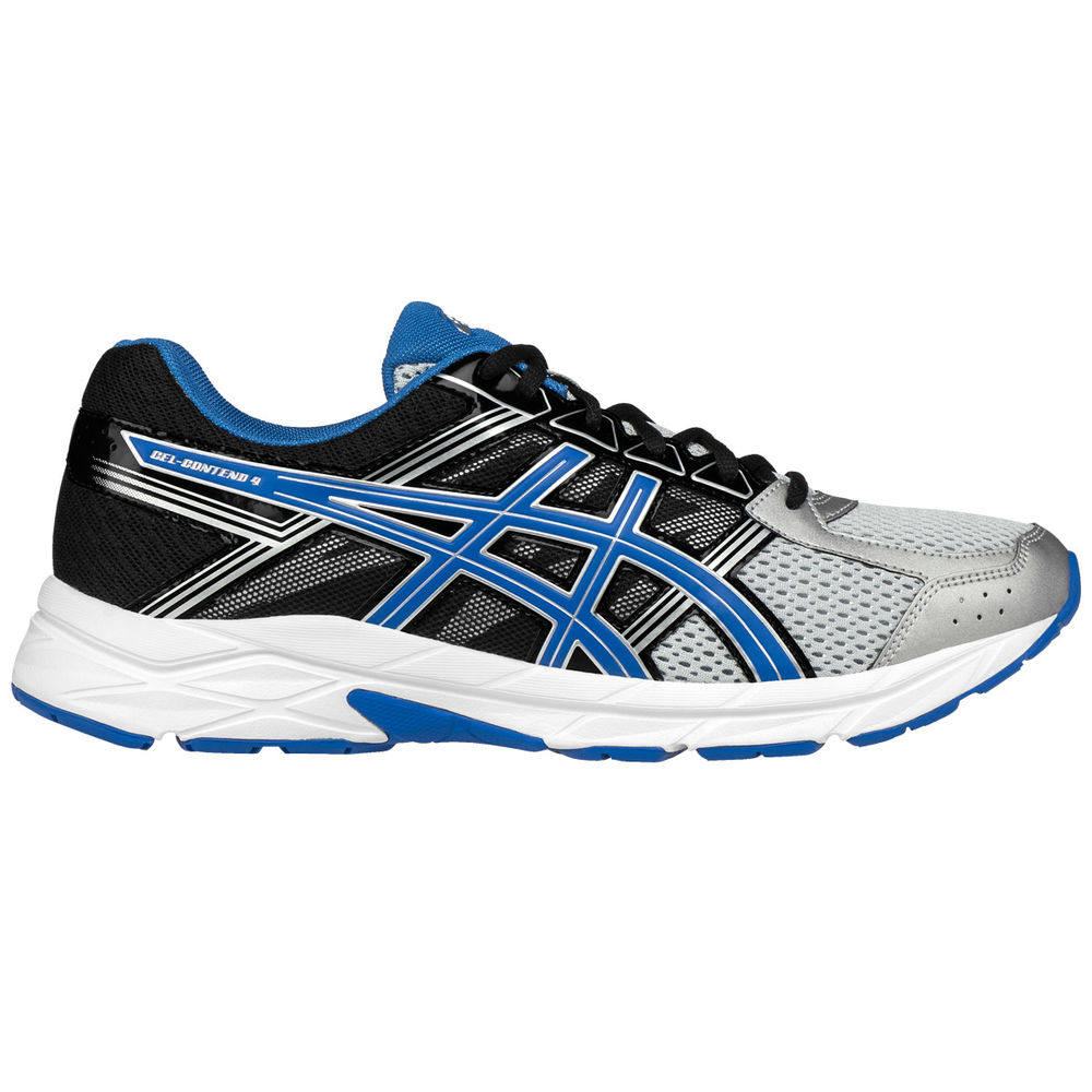 アシックス ASICS メンズ ランニング・ウォーキング シューズ・靴【GEL-Contend 4 Running Shoes】Grey/Black