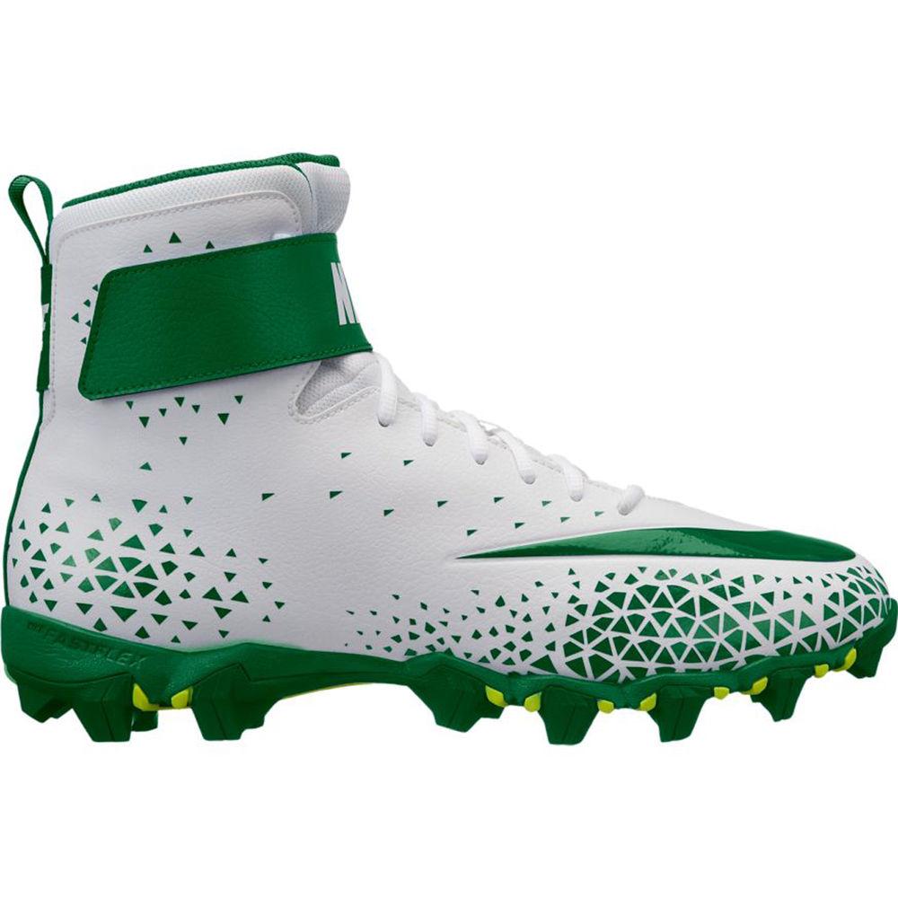ナイキ Nike メンズ アメリカンフットボール シューズ・靴【Force Shark Football Cleat】White/Green