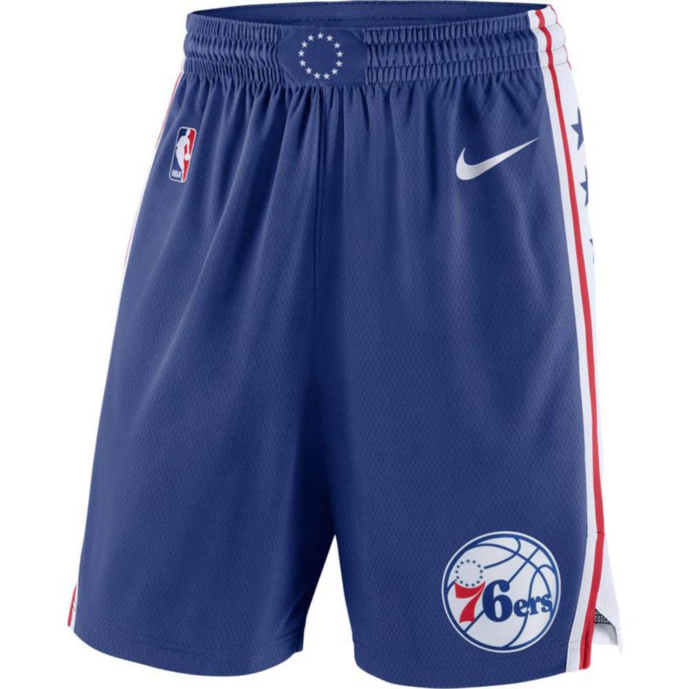 ナイキ Nike メンズ ボトムス・パンツ ショートパンツ【Philadelphia 76ers Adult Icon Edition Swingman Shorts】Royal