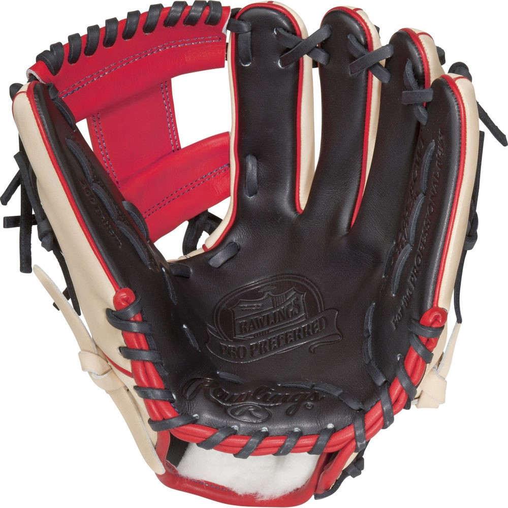 ローリングス Rawlings ユニセックス 野球 グローブ【Pro Preferred Series 11.75 Inch Right Hand Throw Baseball Glove】Camel
