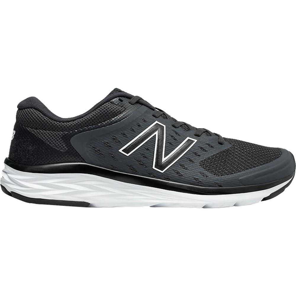 ニューバランス New Balance メンズ ランニング・ウォーキング シューズ・靴【490 Wide Width Running Shoe】Black/White