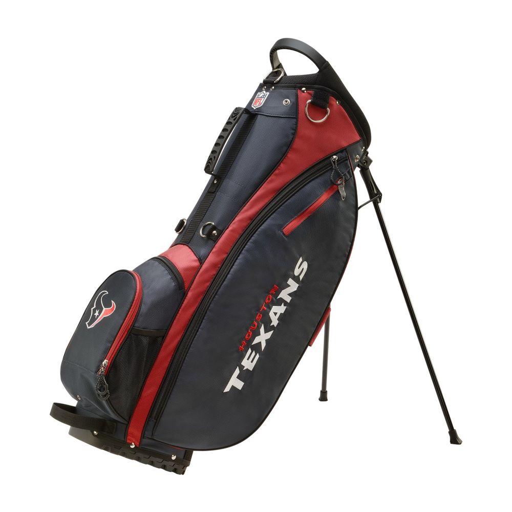 ウィルソン Wilson ユニセックス ゴルフ【Houston Texans Carry Golf Bag】Blue