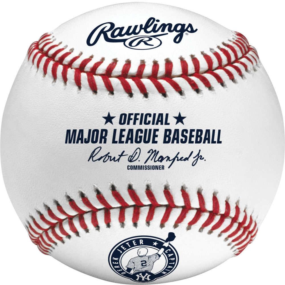 ローリングス Rawlings ユニセックス 野球 ボール【New York Yankees Derek Jeter Retirement Baseball】