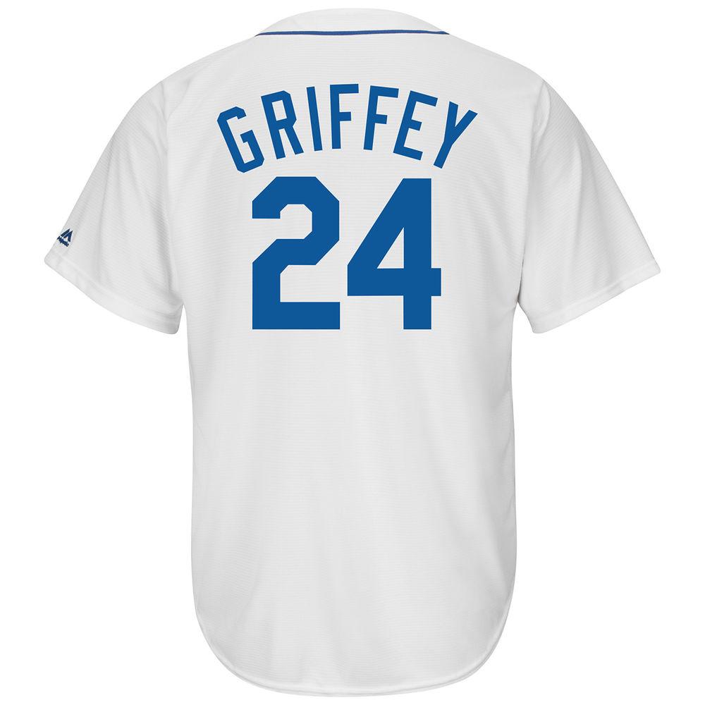 マジェスティック Majestic メンズ トップス【Seattle Mariners Adult Ken Griffey Jr Cooperstown Collection Jersey】