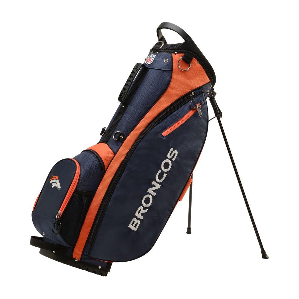ウィルソン Wilson ユニセックス ゴルフ【Denver Broncos Carry Golf Bag】Blue