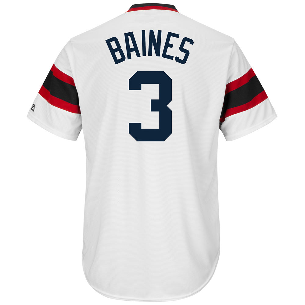 マジェスティック Majestic メンズ トップス【Chicago White Sox Adult Harold Baines Cooperstown Collection Cool Base Jersey】White