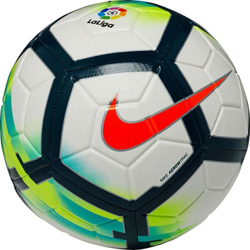 ナイキ Nike ユニセックス サッカー ボール【La Liga Strike Soccer Ball】White/Green