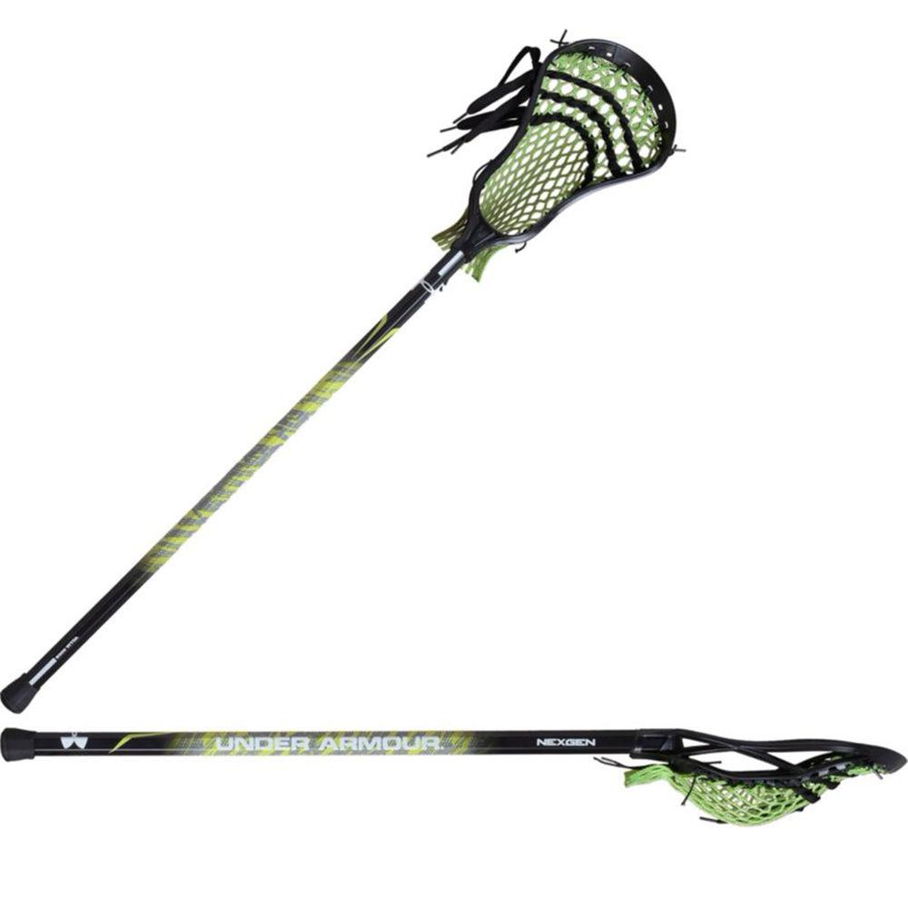 アンダーアーマー Under Armour ユニセックス ラクロス クロス【Adult Nex Gen Complete Attack Lacrosse Stick】Lime