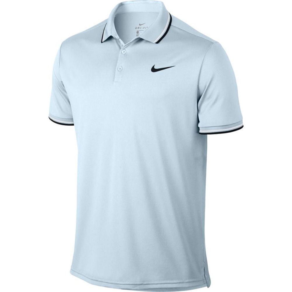 ナイキ Nike メンズ テニス トップス【Tennis Polo】Light Blue
