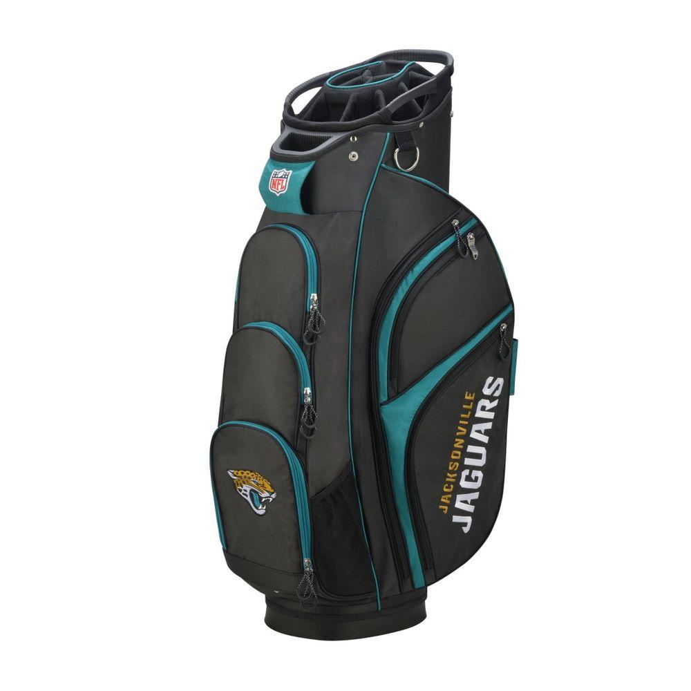 ウィルソン Wilson ユニセックス ゴルフ【Jacksonville Jaguars Cart Golf Bag】Black