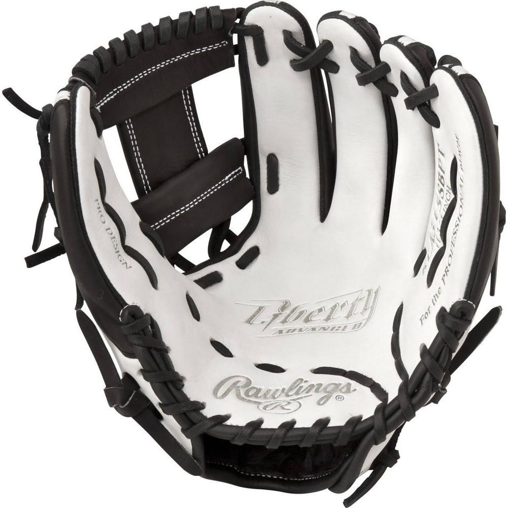 ローリングス Rawlings ユニセックス 野球 グローブ【Liberty Advanced 11.75 Inch Right Hand Throw Softball Glove】White/Black