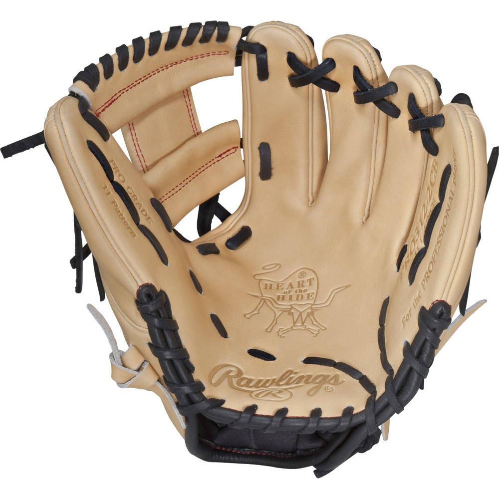 ローリングス Rawlings ユニセックス 野球 グローブ【Heart of the Hide Series 11.25 Inch Right Hand Throw Baseball Glove】Camel
