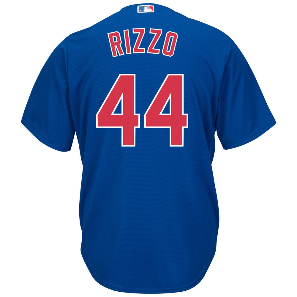 マジェスティック Majestic メンズ トップス【Chicago Cubs Anthony Rizzo Adult Cool Base Replica Jersey】Royal