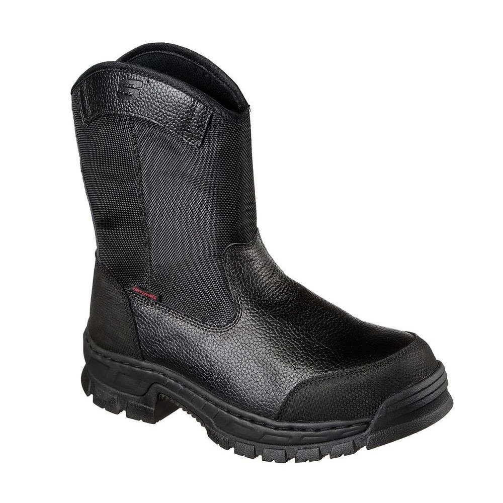 スケッチャーズ Skechers メンズ シューズ・靴【Vinten Wibaux Composite Toe Shoe】Black
