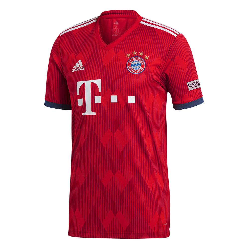 アディダス adidas メンズ サッカー トップス【Bayern 2018 Home Jersey】Red