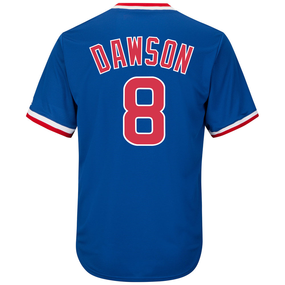 マジェスティック Majestic メンズ トップス【Chicago Cubs Adult Andre Dawson Cooperstown Collection Jersey】