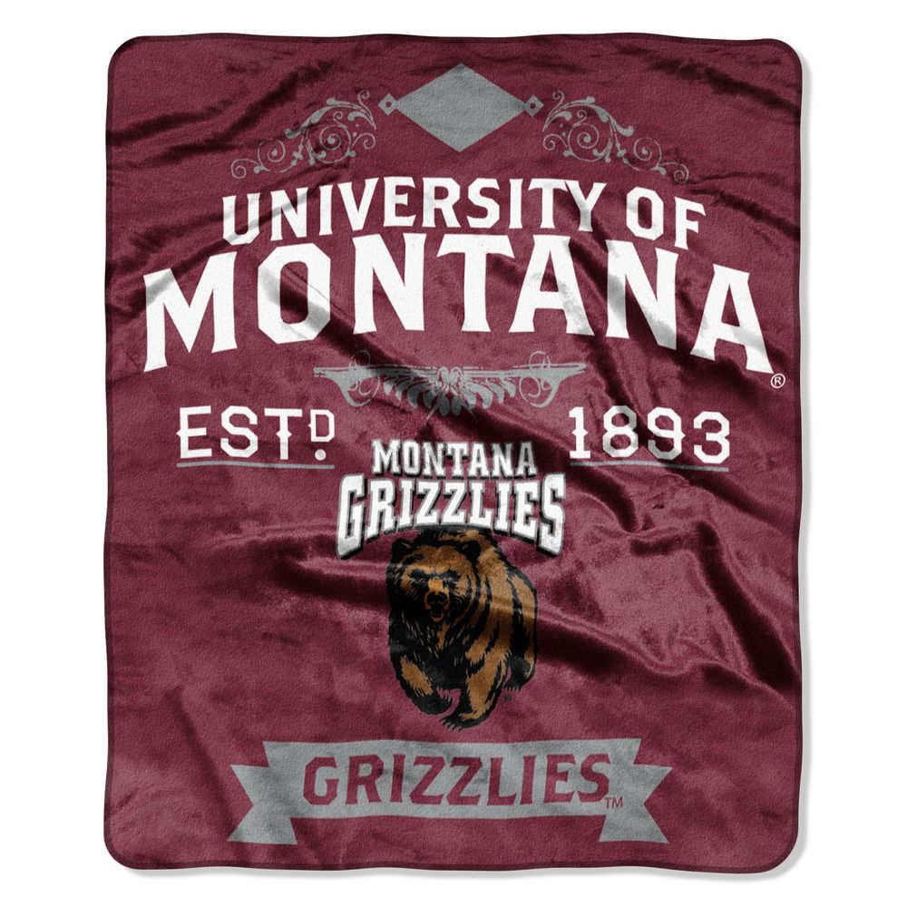ノースウエスト Northwest ユニセックス マフラー・スカーフ・ストール【Montana Grizzlies Label Raschel Throw】