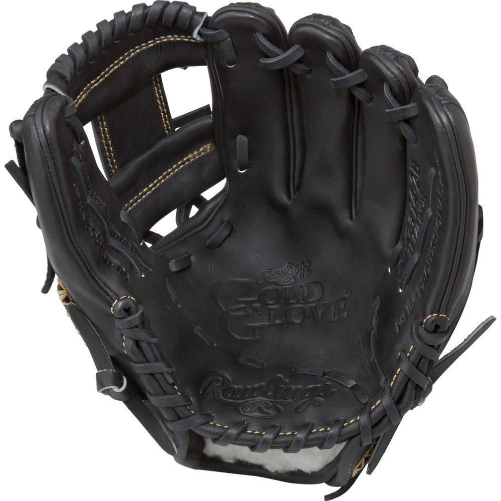 ローリングス ユニセックス 野球 グローブ Black 【サイズ交換無料】 ローリングス Rawlings ユニセックス 野球 グローブ【Gold Glove Series 11.5 Inch Right Hand Throw Baseball Glove】Black
