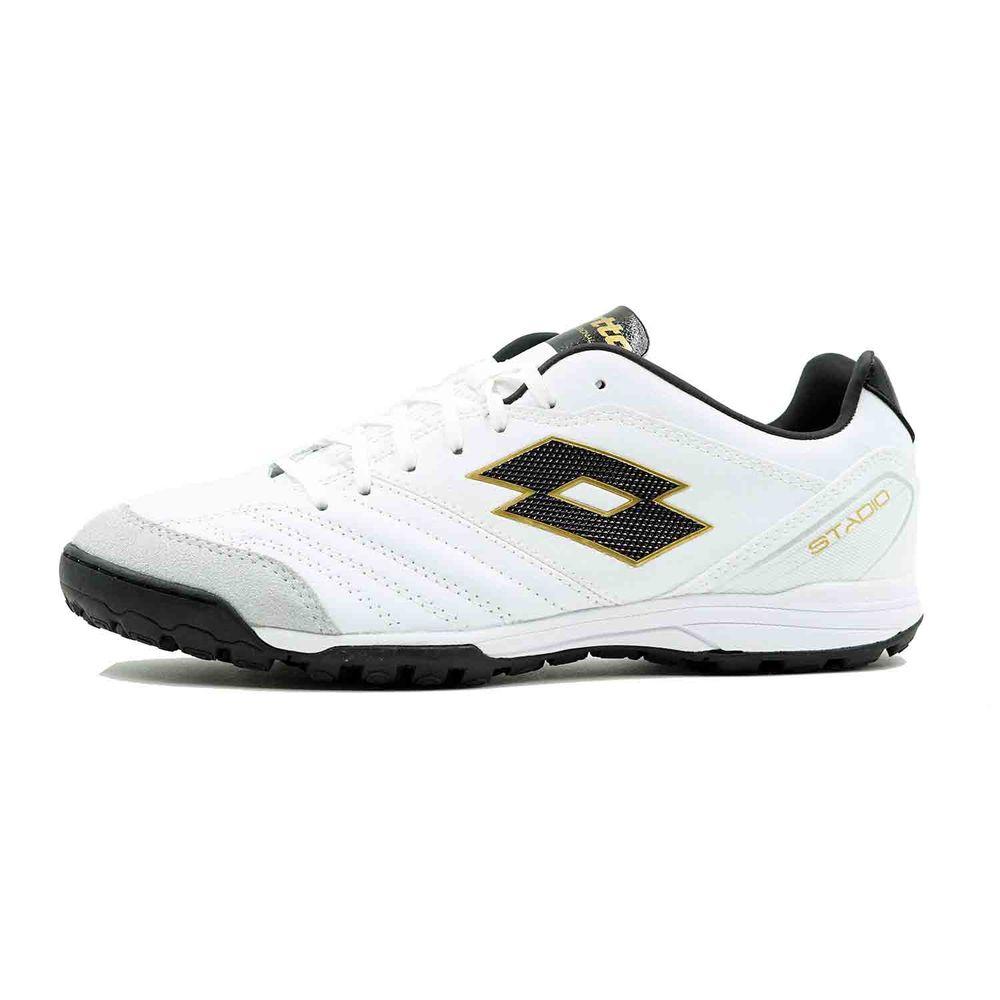 ロット Lotto メンズ サッカー シューズ・靴【Stadio 300 TF Soccer Cleat】White/Gold