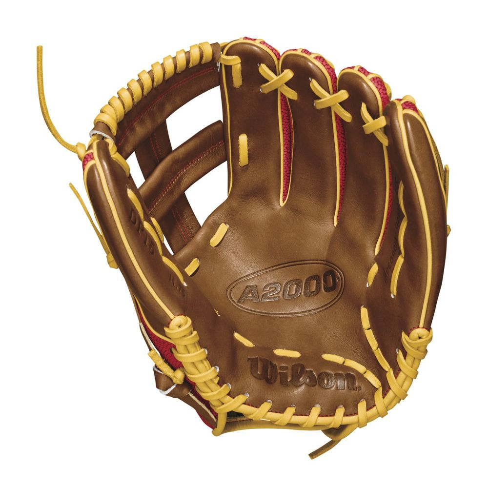 ウィルソン Wilson ユニセックス 野球 グローブ【2018 A2000 11.75 Inch Right Hand Throw Baseball Glove】Brown/Tan