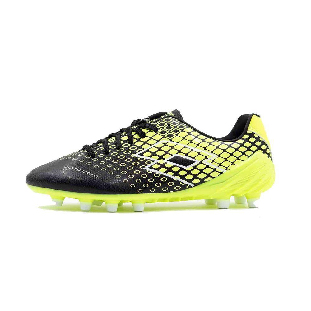 ロット Lotto メンズ サッカー シューズ・靴【Spider 200 XIV FG Soccer Cleat】Black/Yellow