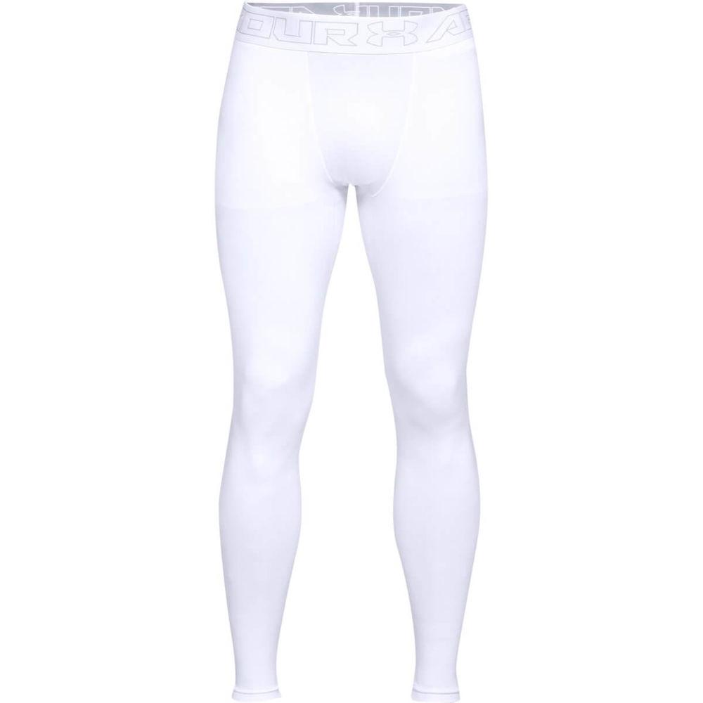アンダーアーマー Under Armour メンズ インナー・下着 タイツ・スパッツ【ColdGear Legging】White
