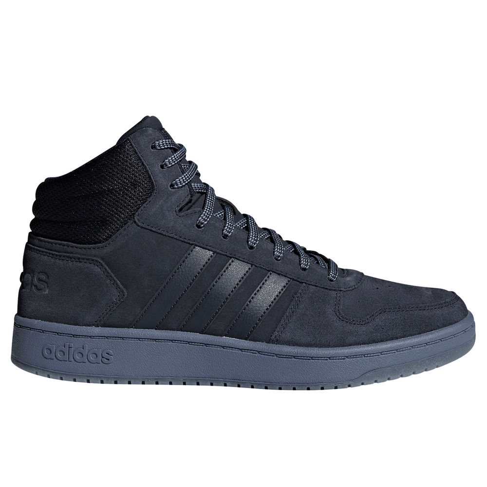 アディダス adidas メンズ バスケットボール シューズ・靴【Hoops 2 Mid Basketball Shoe】Navy