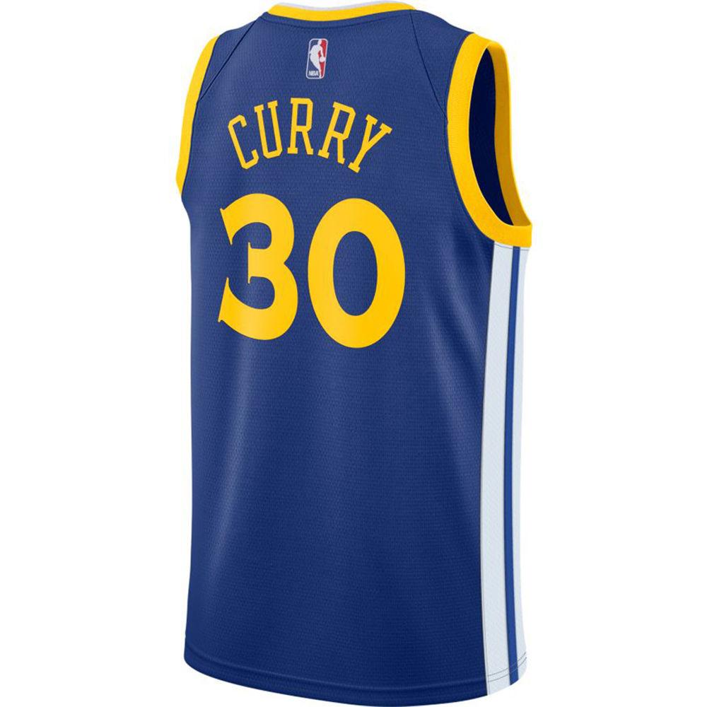 ナイキ Nike メンズ トップス【Golden State Warriors Adult Stephen Curry Swingman Jersey】Royal
