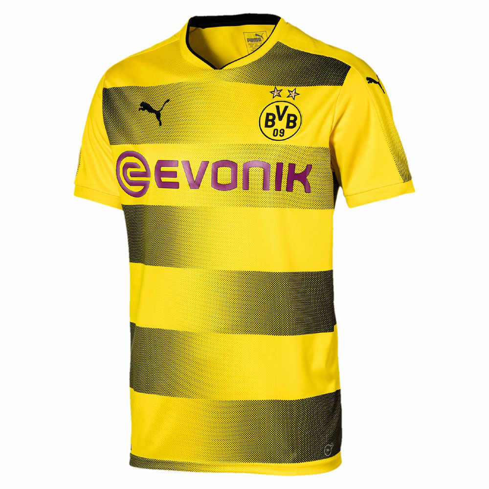 プーマ Puma メンズ サッカー トップス【Borussia Dortmund Adult 2017-2018 Replica Home Stadium Jersey】Yellow