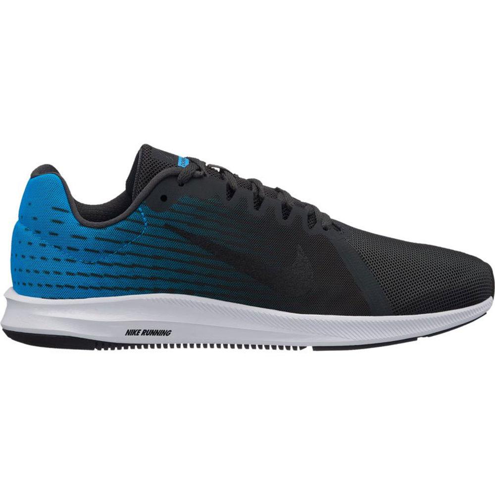 開店祝い ナイキ Nike メンズ ランニング Shoe】Black/Blue・ウォーキング Nike シューズ・靴【Downshifter Running 8 Running Shoe】Black/Blue, 5階寝具売場:ab451233 --- totem-info.com