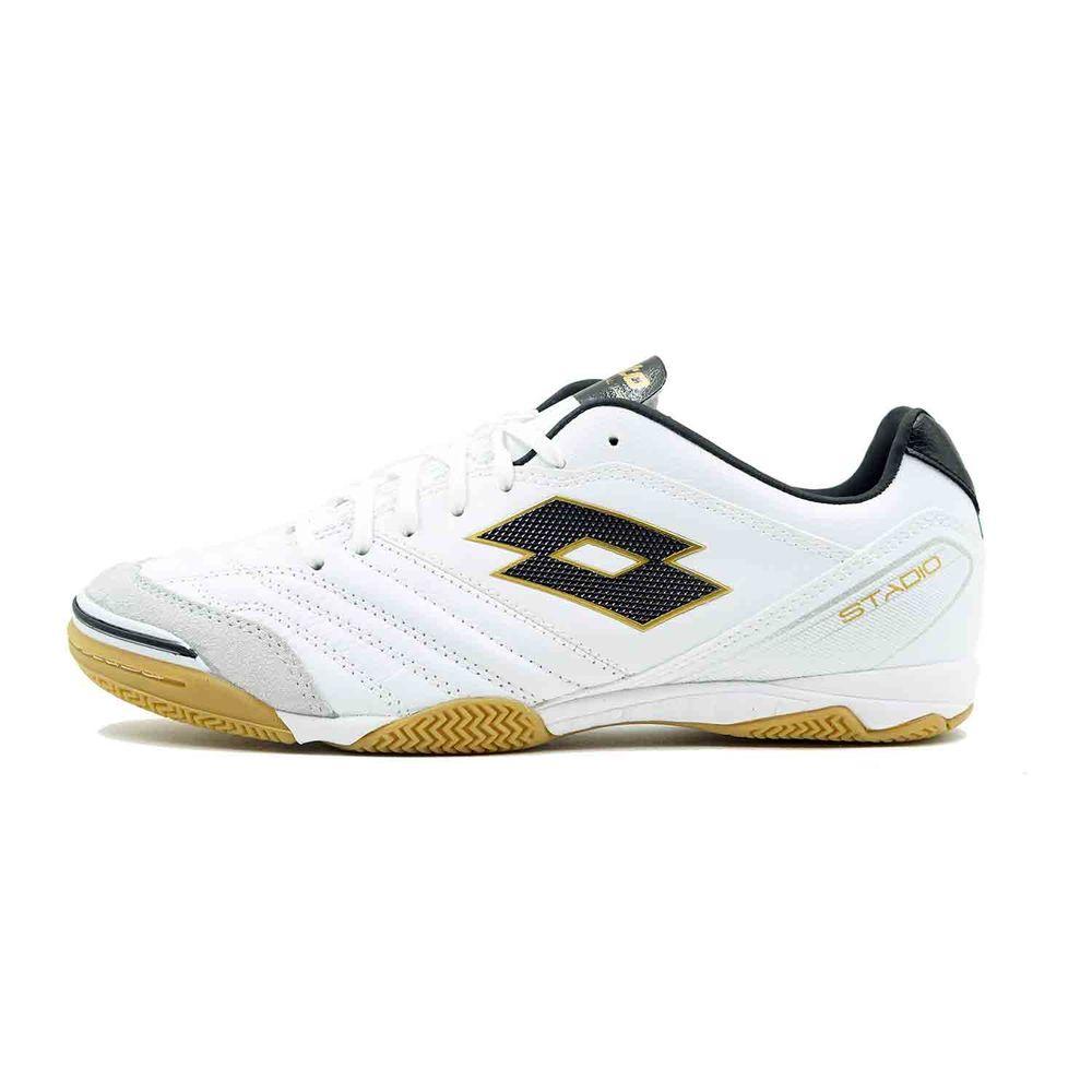 ロット Lotto メンズ サッカー シューズ・靴【Stadio 300 ID Soccer Cleat】White/Gold
