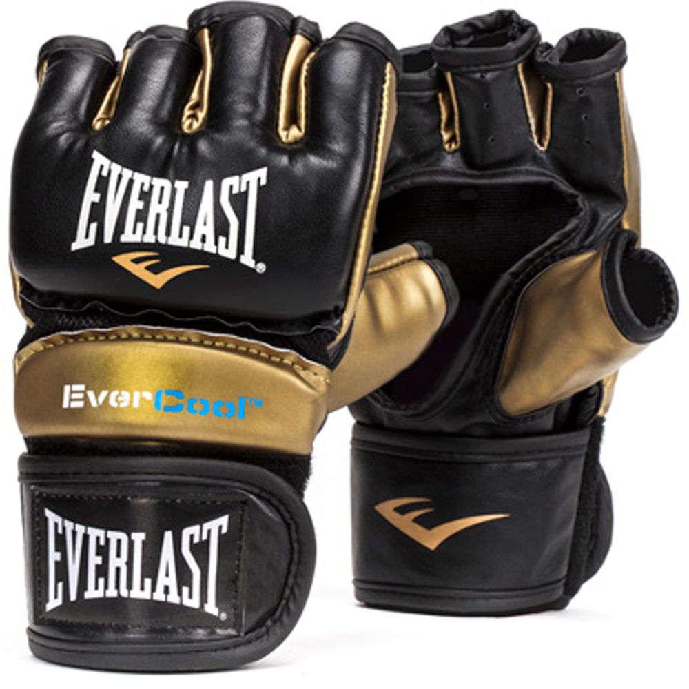 エバーラスト Everlast ユニセックス グローブ【Everstrike Training Gloves】Black/Gold