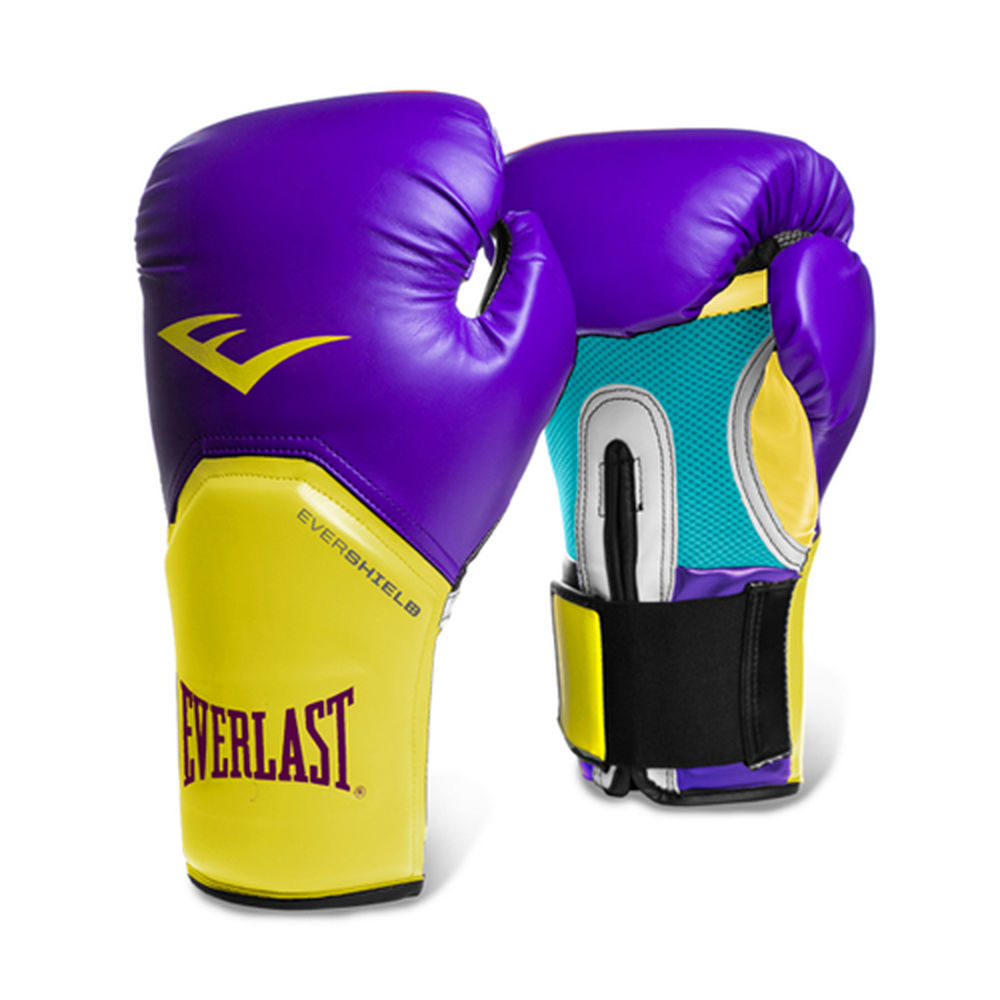 エバーラスト Everlast ユニセックス グローブ【12-oz Pro Style Boxing Gloves Purple/Gold】
