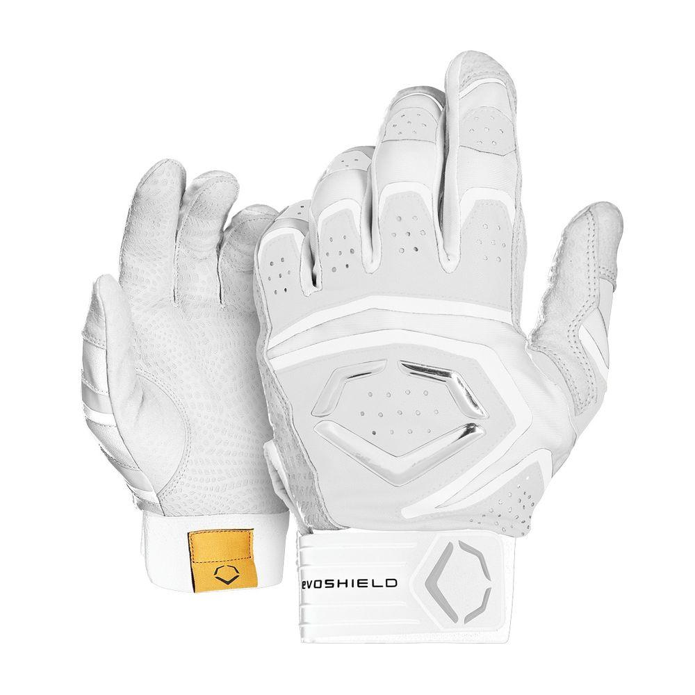 激安ブランド エボシールド 野球 EvoShield ユニセックス Batting 野球 グローブ【Adult Impact 950 Gloves】White Batting Gloves】White, 引越資材プロショップ:c19fe7e0 --- anigeroman.xyz