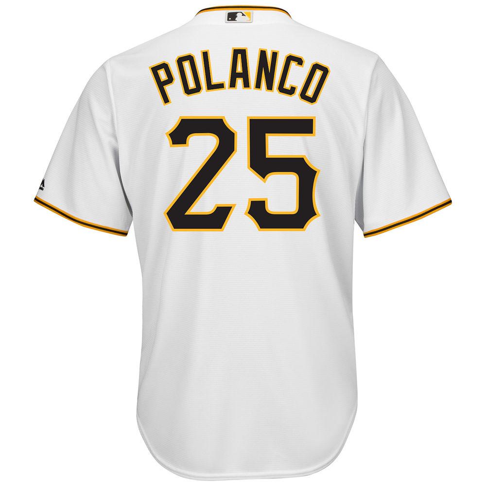 マジェスティック Majestic メンズ トップス【Pittsburgh Pirates Adult Gregory Polanco Home Jersey】Open Miscellaneous